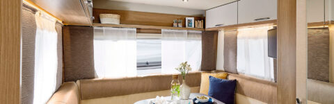 Complete caravans that ensure a safe holiday with family or friends.