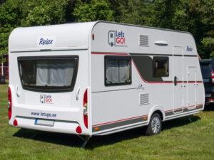 Caravan rent in Tallinn. Relax 6 karavan Premio Plus 440